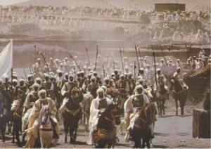 Peygamber Efendimiz Mücahitlerle Medine'den Hareket Etmesi