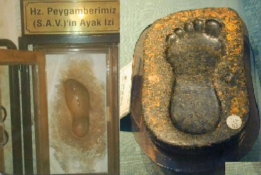 Hz. Muhammed'in Mucizesi Ayaklarının İzi