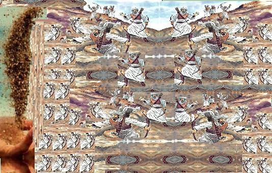 Hz. Muhammedin Düşmanlarının Yüzüne Kum Serpme Mucizesi
