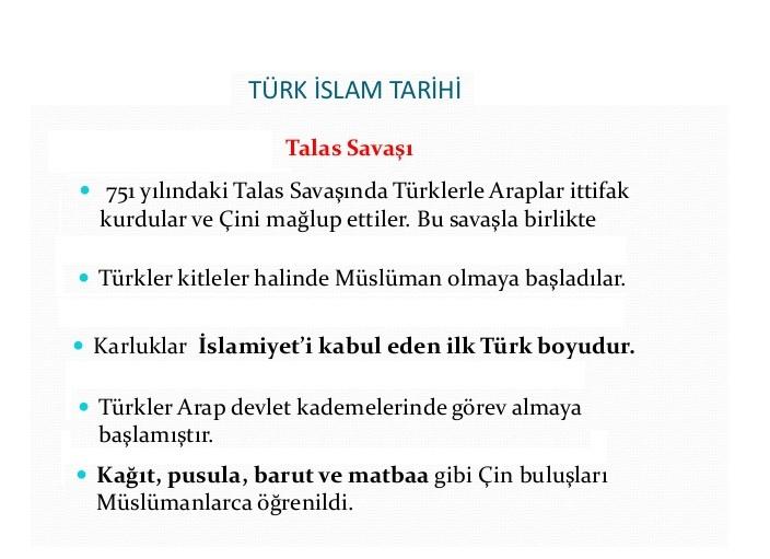 Türk İslam Tarihi